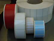 Self-adhesive blank labels